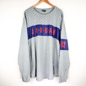 Jordan 1992 Stars and Logo Graphic Long Sweater